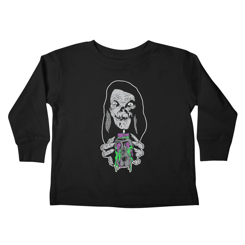 Keeper of Crypts Kids Toddler Longsleeve T-Shirt by Cold Lantern Collection