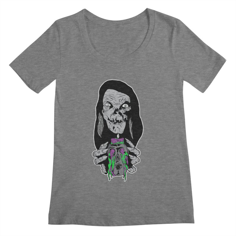 Keeper of Crypts Women's Scoopneck by Cold Lantern Collection