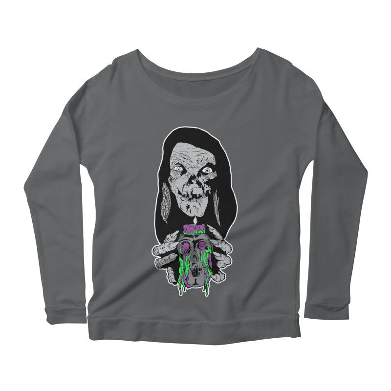 Keeper of Crypts Women's Longsleeve Scoopneck  by Cold Lantern Collection