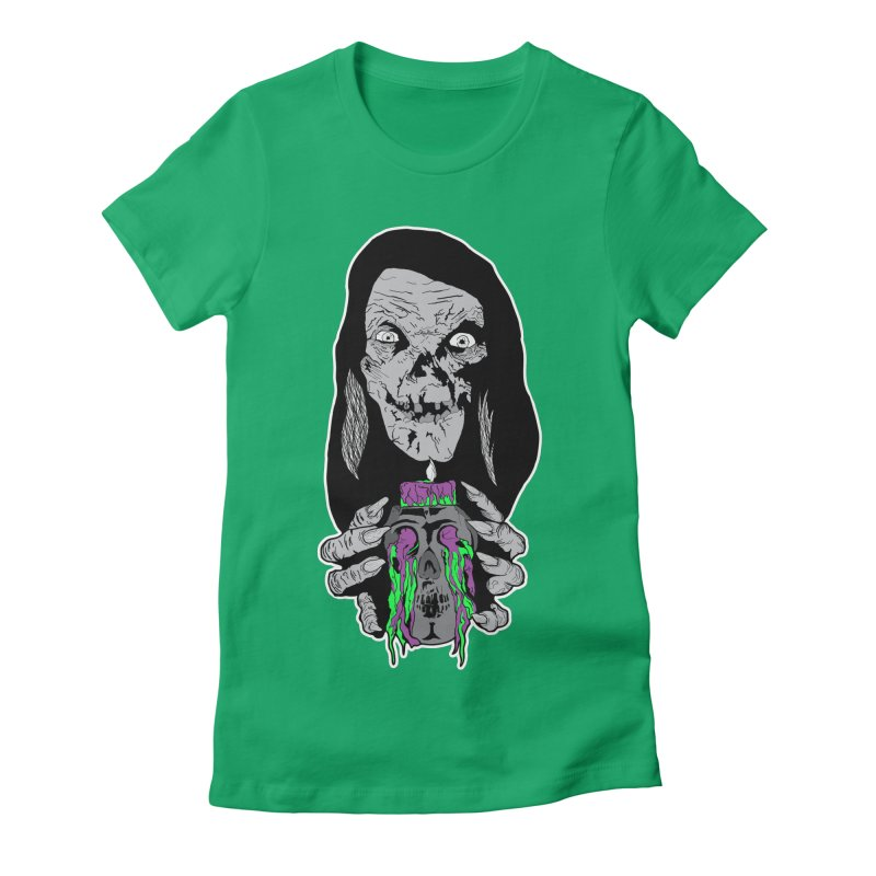 Keeper of Crypts Women's Fitted T-Shirt by Cold Lantern Collection