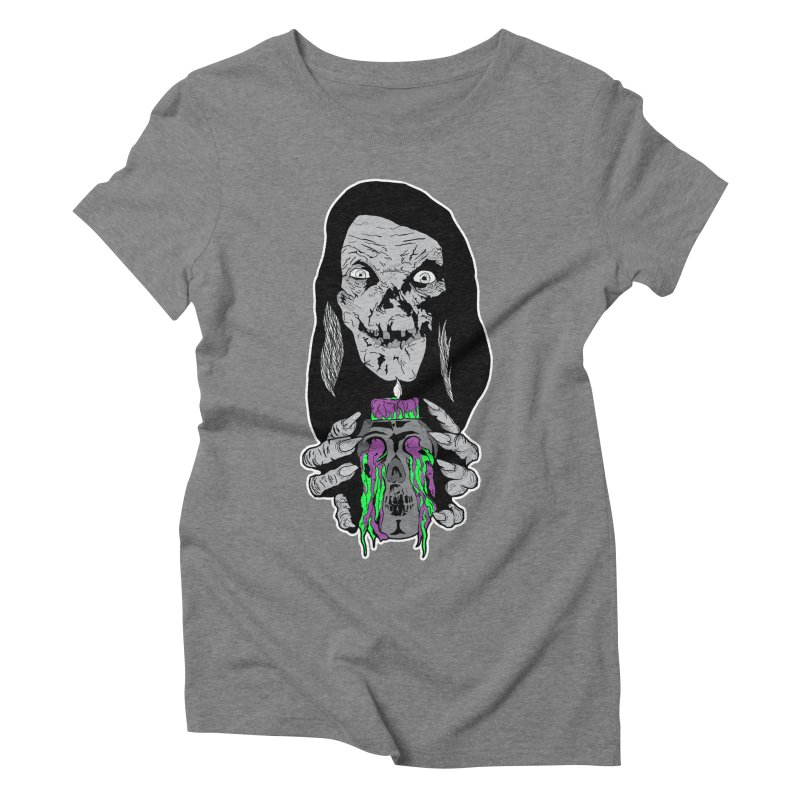Keeper of Crypts Women's Triblend T-Shirt by Cold Lantern Collection