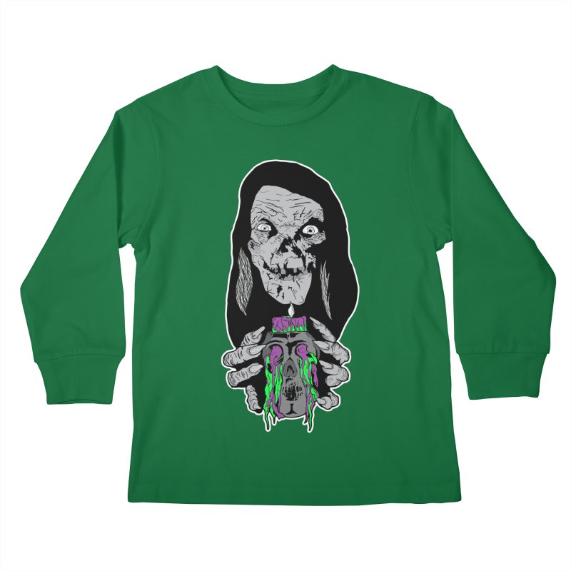 Keeper of Crypts Kids Longsleeve T-Shirt by Cold Lantern Collection
