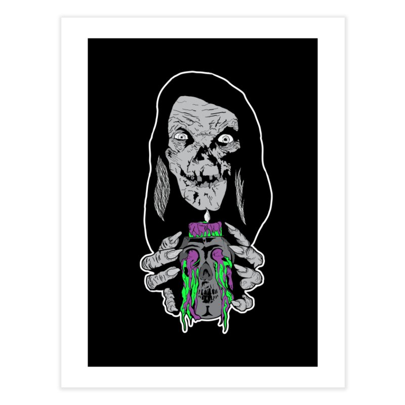 Keeper of Crypts Home Fine Art Print by Cold Lantern Collection