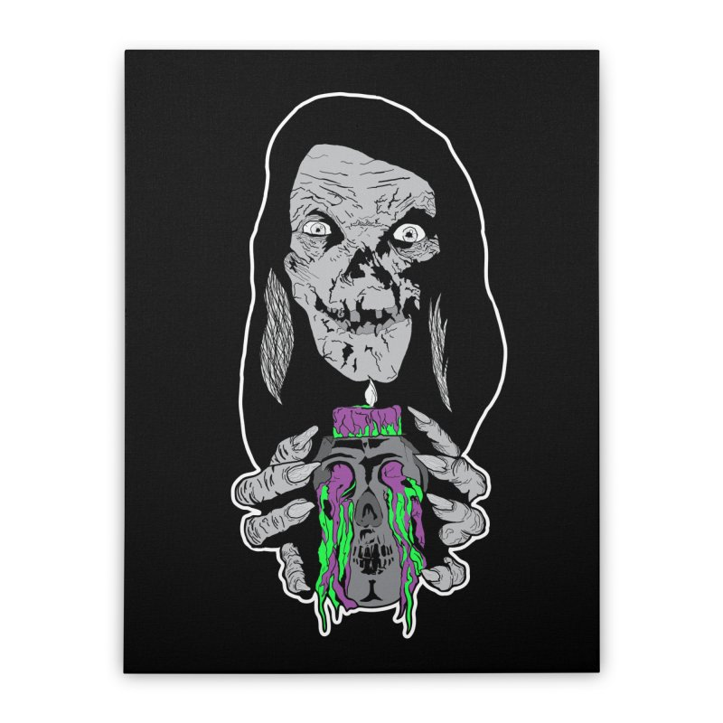 Keeper of Crypts Home Stretched Canvas by Cold Lantern Collection