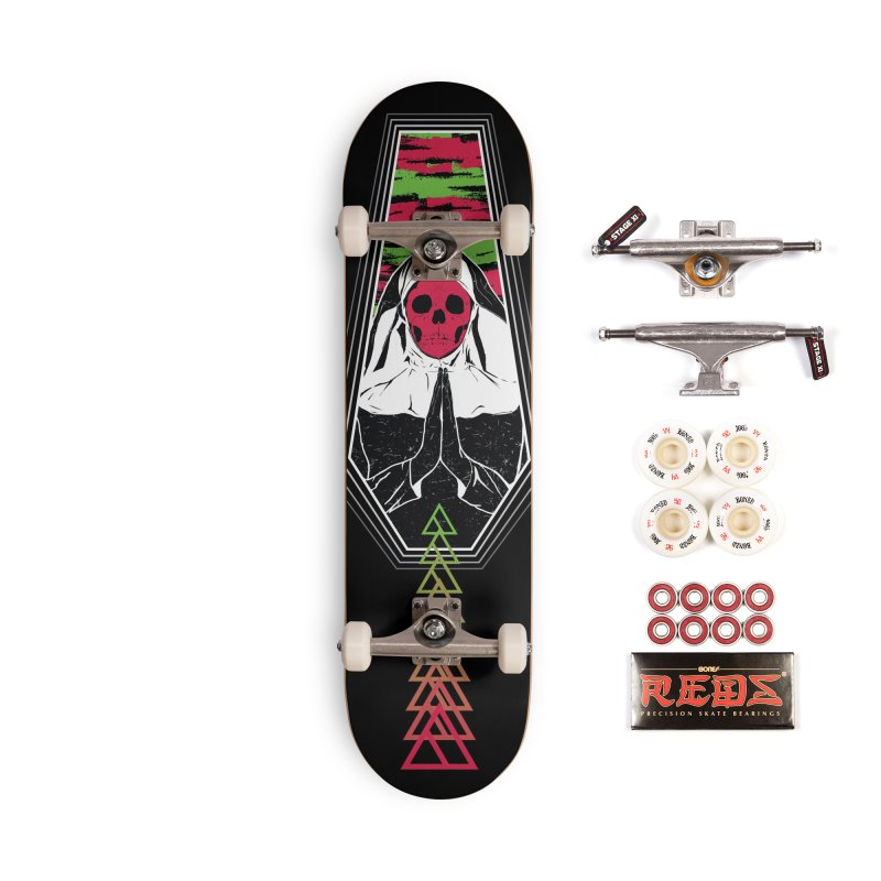 Pray for Amanda K. Accessories Complete - Pro Skateboard by Cold Lantern Collection