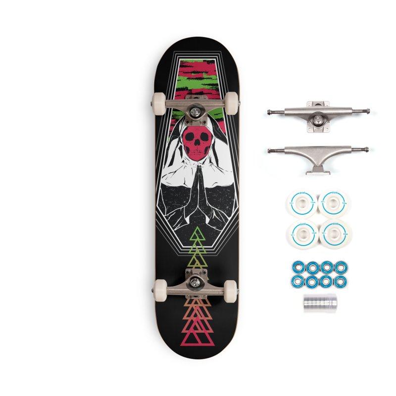 Pray for Amanda K. Accessories Complete - Basic Skateboard by Cold Lantern Design