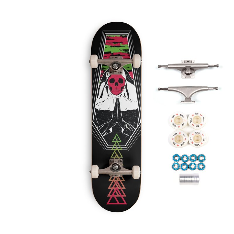 Pray for Amanda K. Accessories Complete - Premium Skateboard by Cold Lantern Design