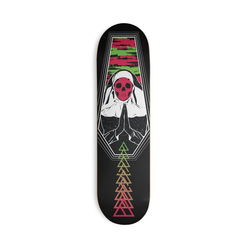 Pray for Amanda K. Accessories Skateboard by Cold Lantern Design
