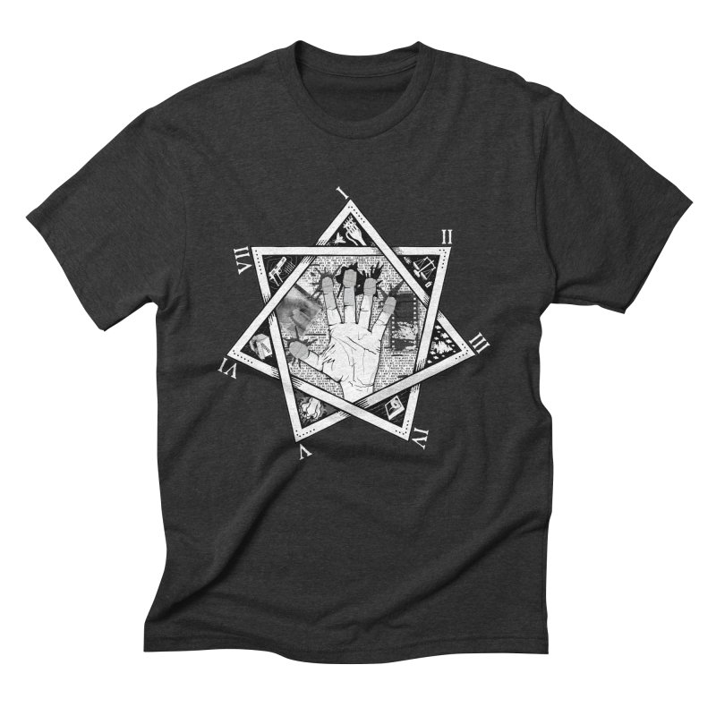 Hand of Doe in Men's Triblend T-Shirt Heather Onyx by Cold Lantern Collection