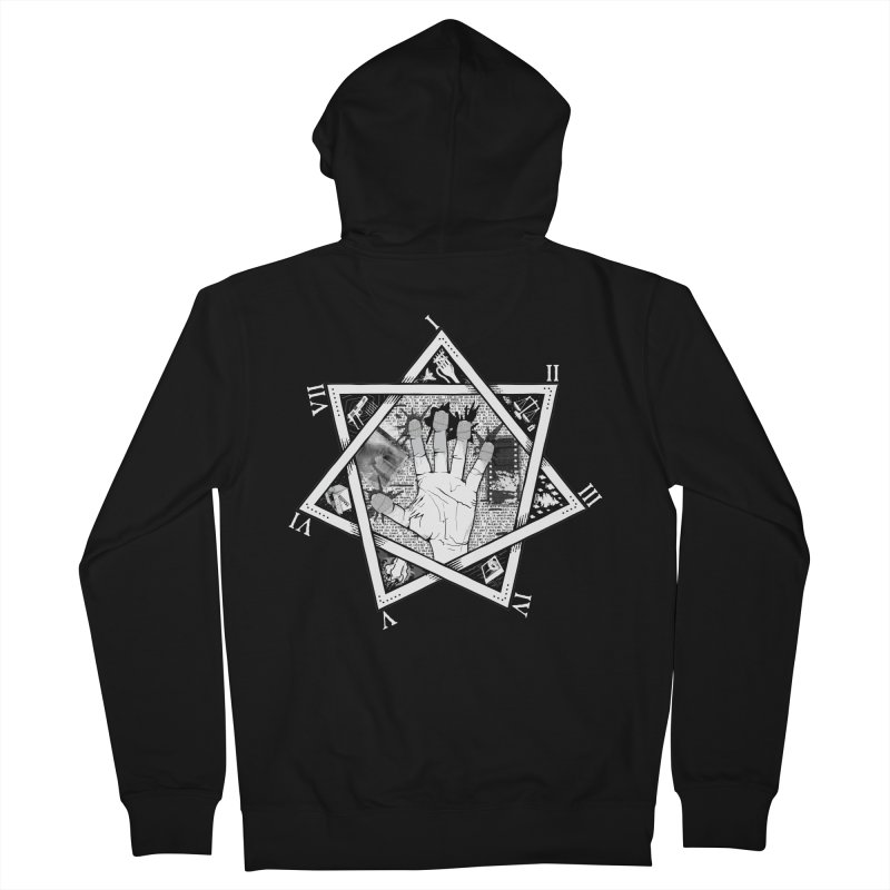 Hand of Doe Men's Zip-Up Hoody by Cold Lantern Collection