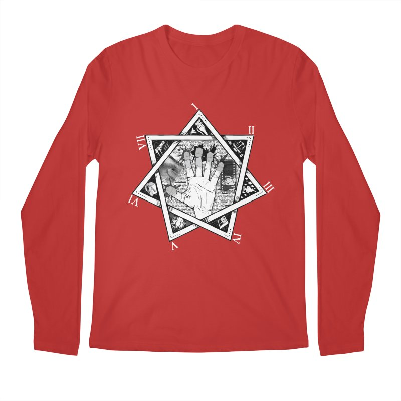 Hand of Doe Men's Regular Longsleeve T-Shirt by Cold Lantern Collection