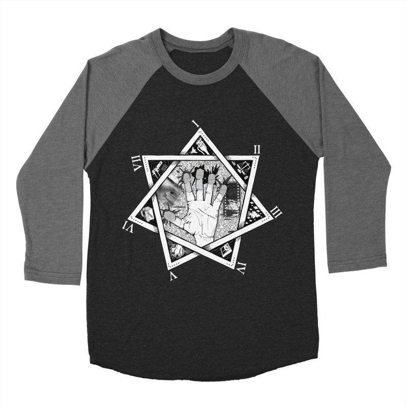 Hand of Doe Women's Baseball Triblend Longsleeve T-Shirt by Cold Lantern Collection