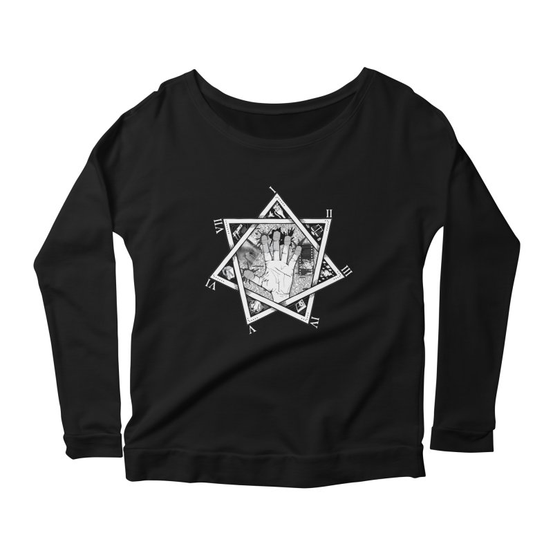 Hand of Doe Women's Longsleeve Scoopneck  by Cold Lantern Collection