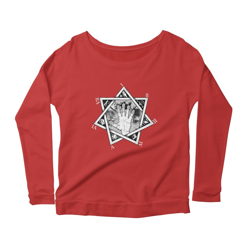 Hand of Doe Women's Scoop Neck Longsleeve T-Shirt by Cold Lantern Collection
