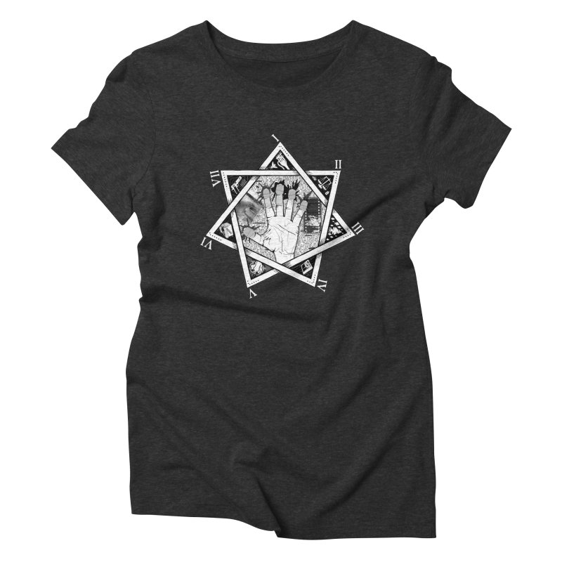 Hand of Doe Women's Triblend T-Shirt by Cold Lantern Collection