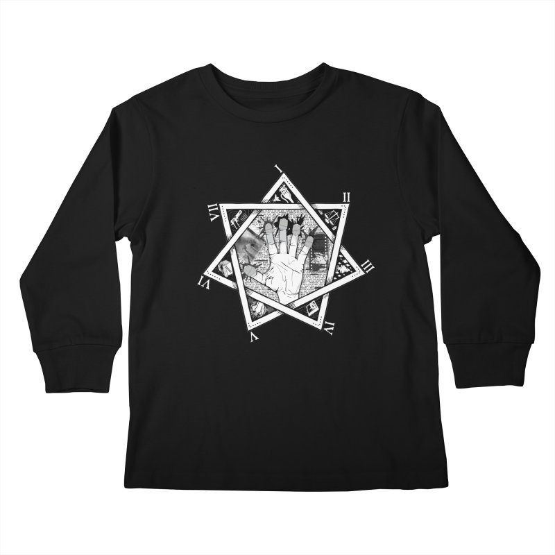 Hand of Doe Kids Longsleeve T-Shirt by Cold Lantern Collection