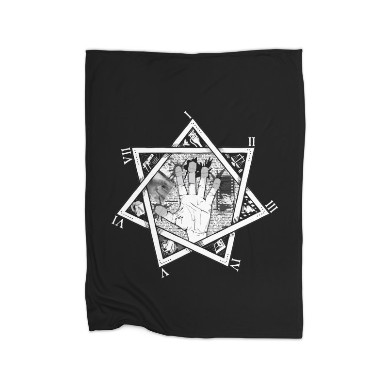 Hand of Doe Home Fleece Blanket Blanket by Cold Lantern Collection