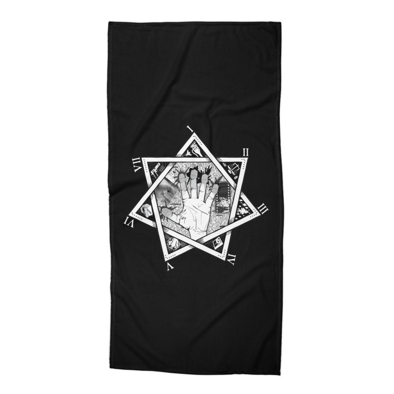 Hand of Doe Accessories Beach Towel by Cold Lantern Collection