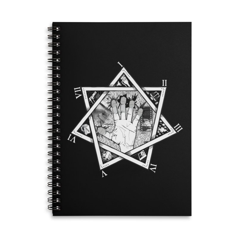 Hand of Doe Accessories Lined Spiral Notebook by Cold Lantern Collection