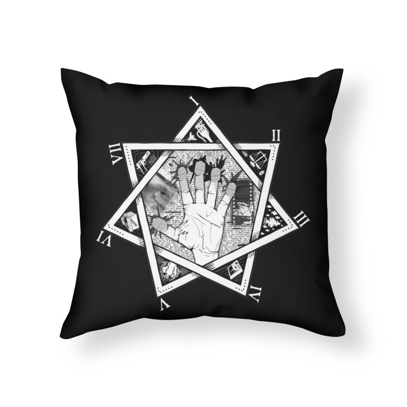 Hand of Doe Home Throw Pillow by Cold Lantern Collection