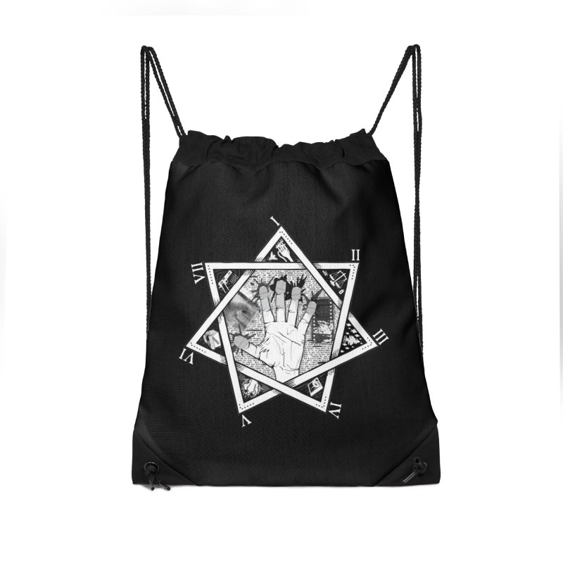 Hand of Doe Accessories Drawstring Bag Bag by Cold Lantern Collection