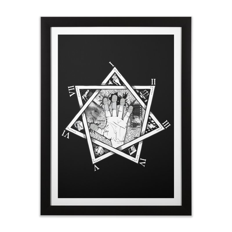 Hand of Doe Home Framed Fine Art Print by Cold Lantern Collection
