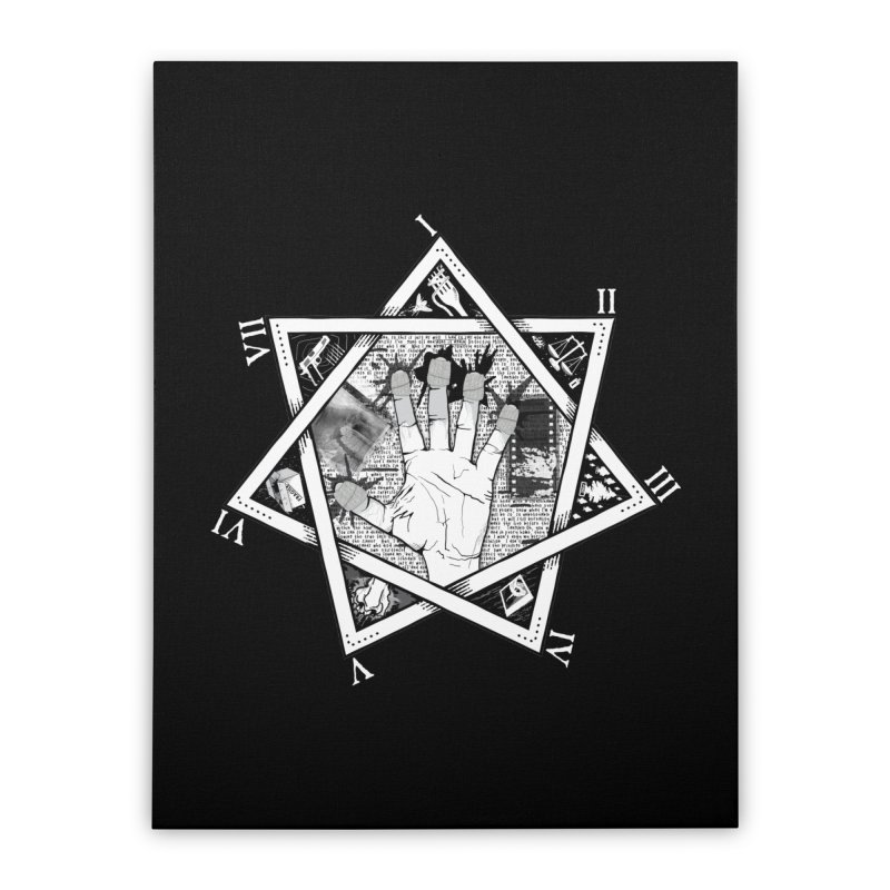 Hand of Doe Home Stretched Canvas by Cold Lantern Collection