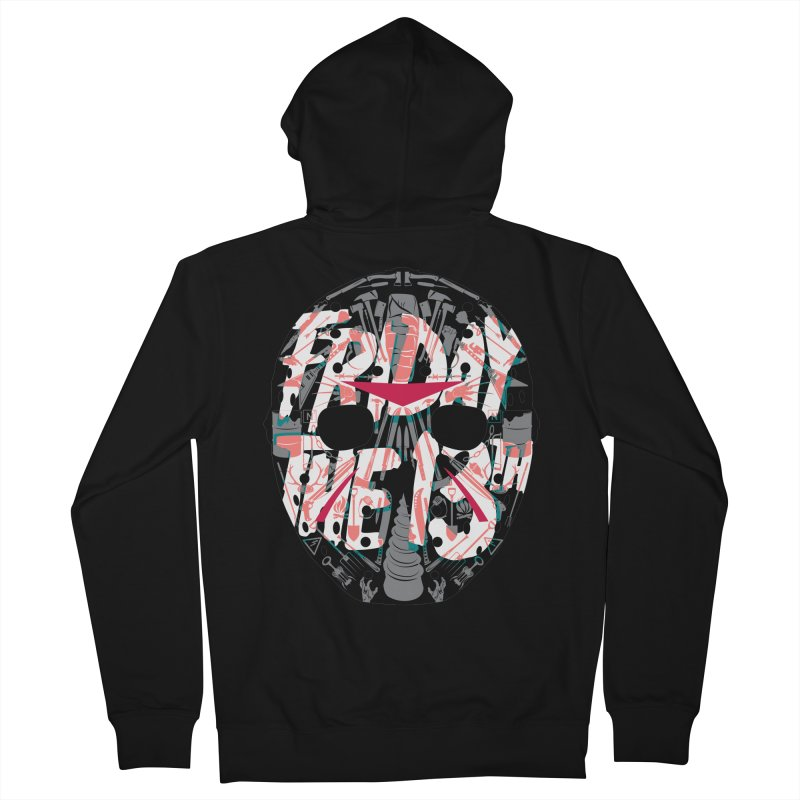 "Weapons of Choice ""Title Card"" Variant Men's French Terry Zip-Up Hoody by Cold Lantern Collection"