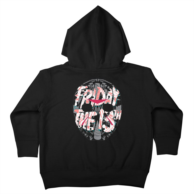 "Weapons of Choice ""Title Card"" Variant Kids Toddler Zip-Up Hoody by Cold Lantern Collection"