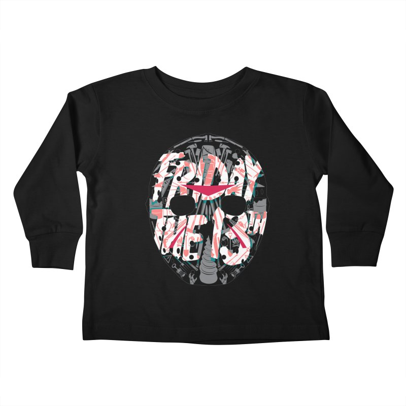 """Weapons of Choice """"Title Card"""" Variant Kids Toddler Longsleeve T-Shirt by Cold Lantern Collection"""