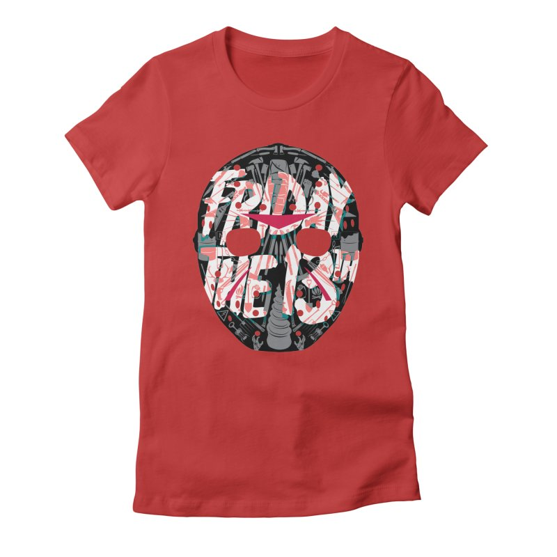 """Weapons of Choice """"Title Card"""" Variant Women's Fitted T-Shirt by Cold Lantern Collection"""