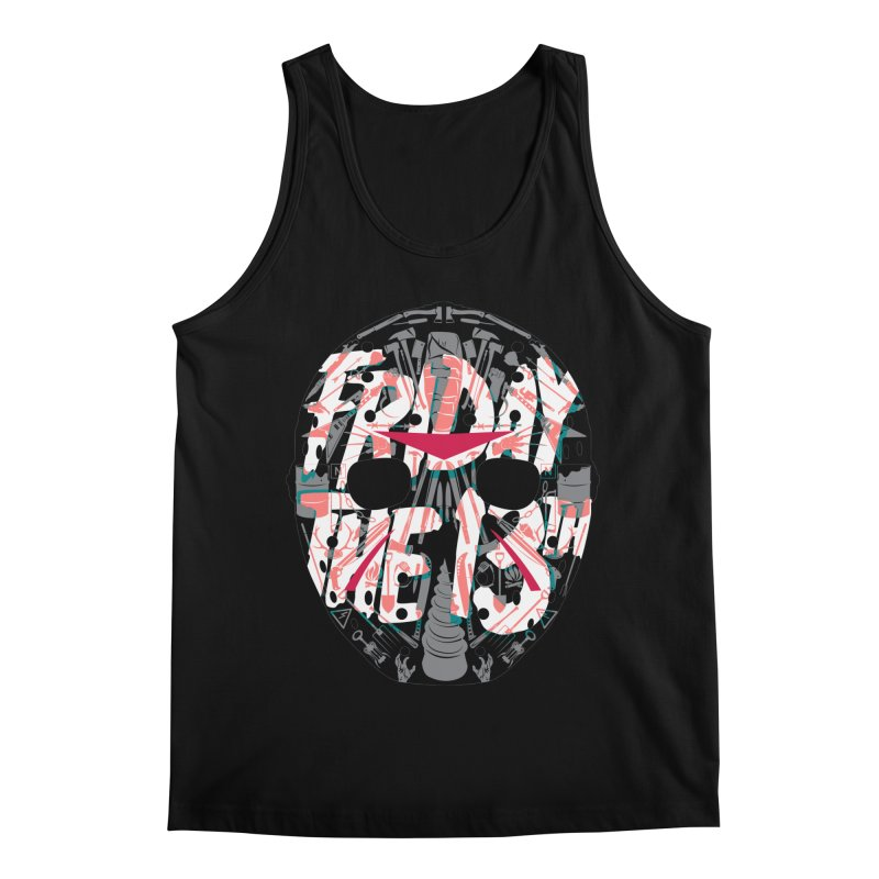 """Weapons of Choice """"Title Card"""" Variant Men's Regular Tank by Cold Lantern Collection"""