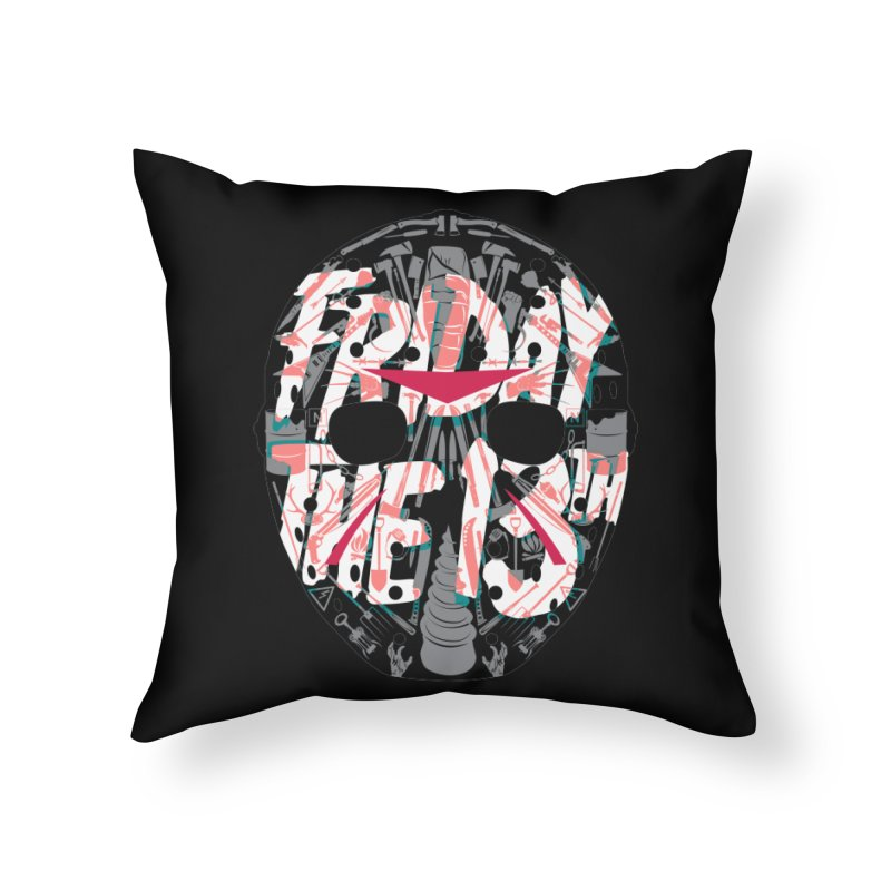 """Weapons of Choice """"Title Card"""" Variant Home Throw Pillow by Cold Lantern Collection"""