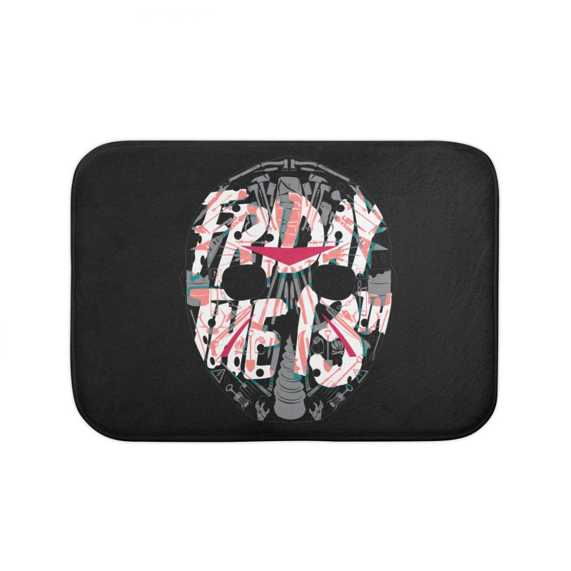 """Weapons of Choice """"Title Card"""" Variant Home Bath Mat by Cold Lantern Collection"""