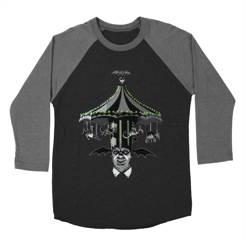 Step Right Up! Men's Baseball Triblend Longsleeve T-Shirt by Cold Lantern Collection