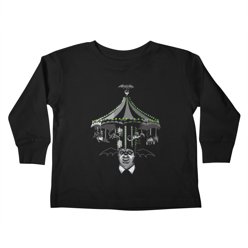 Step Right Up! Kids Toddler Longsleeve T-Shirt by Cold Lantern Collection