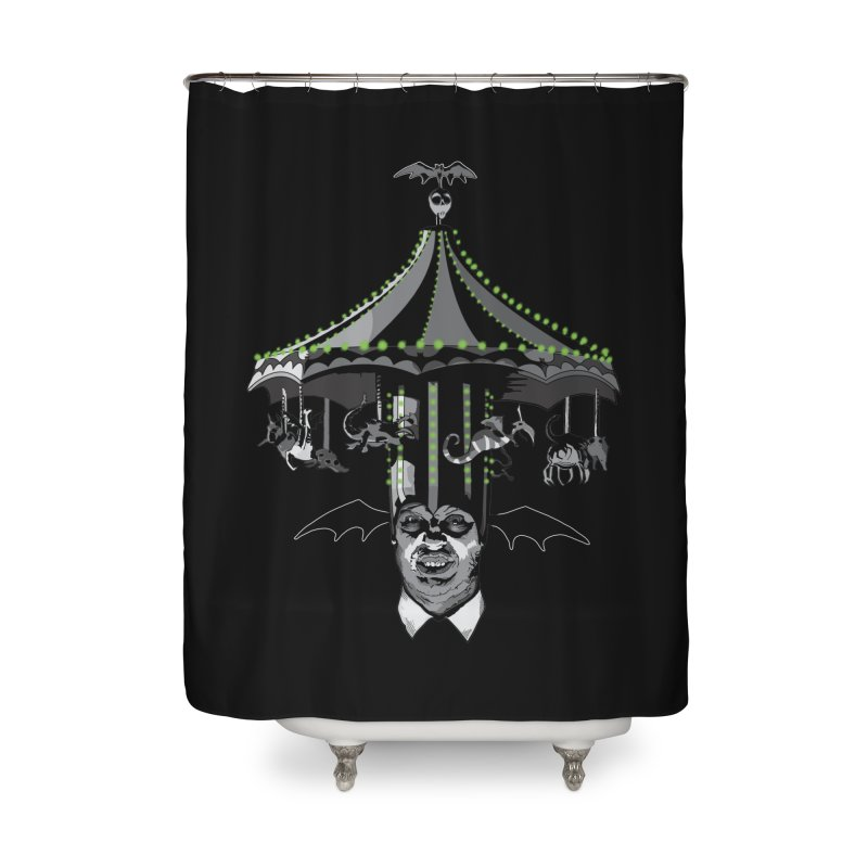 Step Right Up! Home Shower Curtain by Cold Lantern Collection