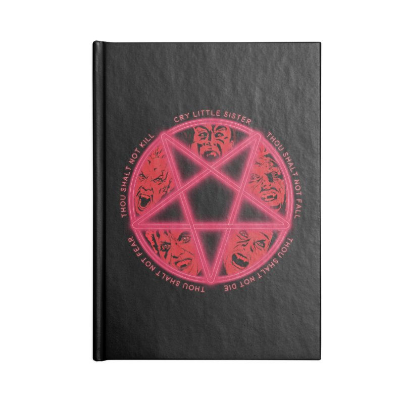 The Santa Carla Five Accessories Blank Journal Notebook by Cold Lantern Collection