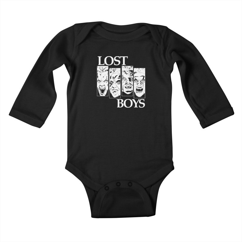 Life is Fun (Monochrome Variant) Kids Baby Longsleeve Bodysuit by Cold Lantern Collection