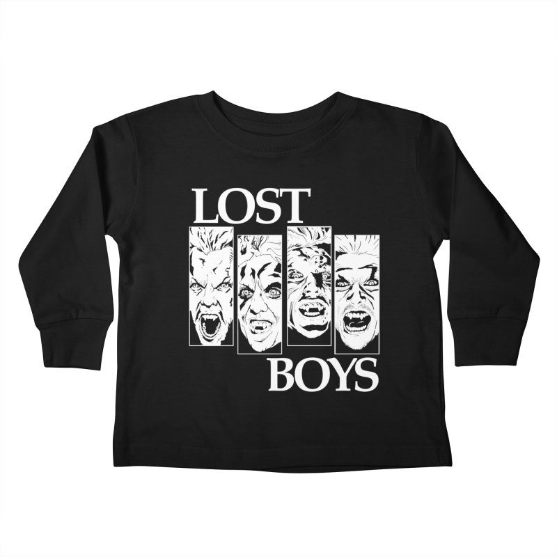 Life is Fun (Monochrome Variant) Kids Toddler Longsleeve T-Shirt by Cold Lantern Collection