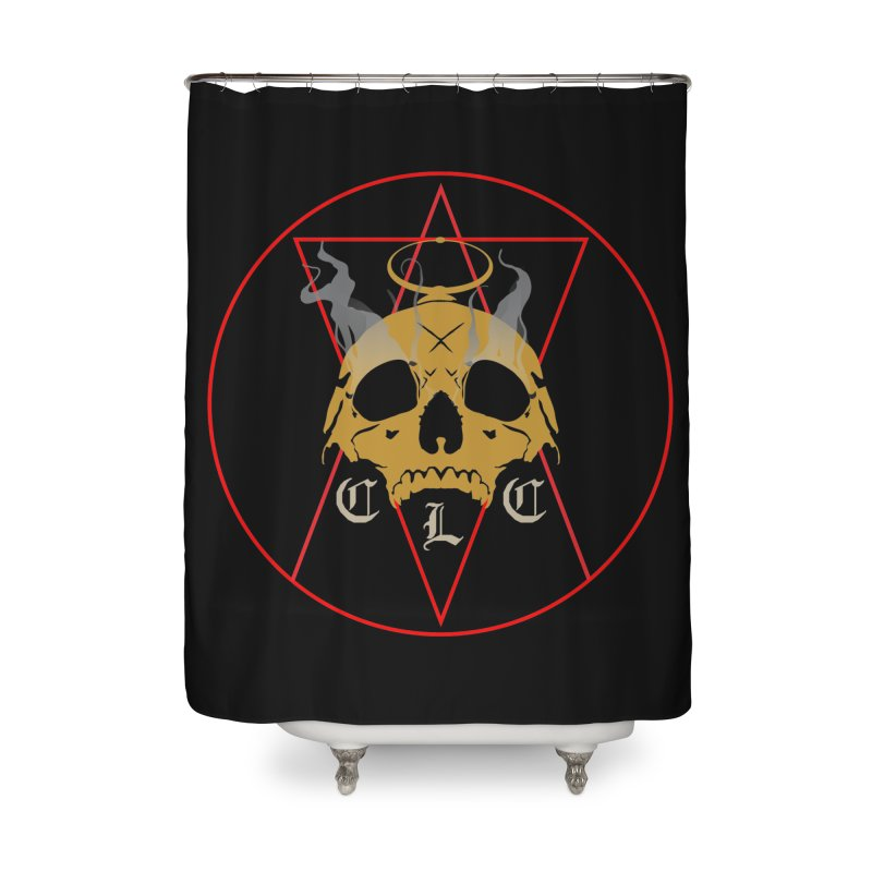 "CLC ""Broken Up"" Logo Home Shower Curtain by Cold Lantern Collection"