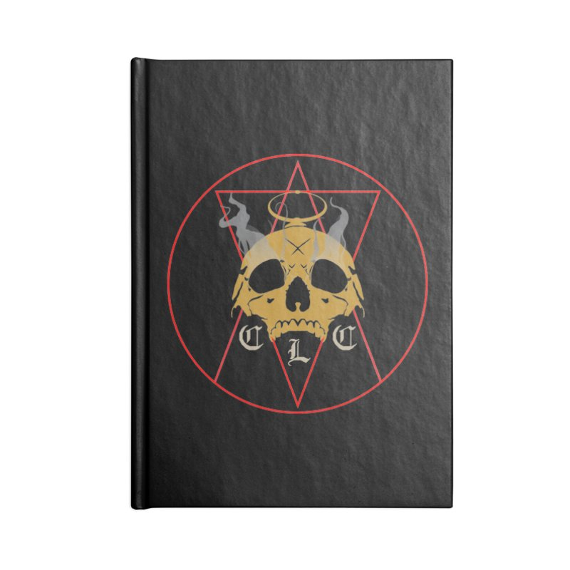 """CLC """"Broken Up"""" Logo Accessories Lined Journal Notebook by Cold Lantern Collection"""