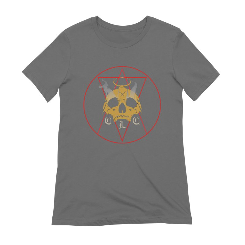 """CLC """"Broken Up"""" Logo Women's Extra Soft T-Shirt by Cold Lantern Collection"""