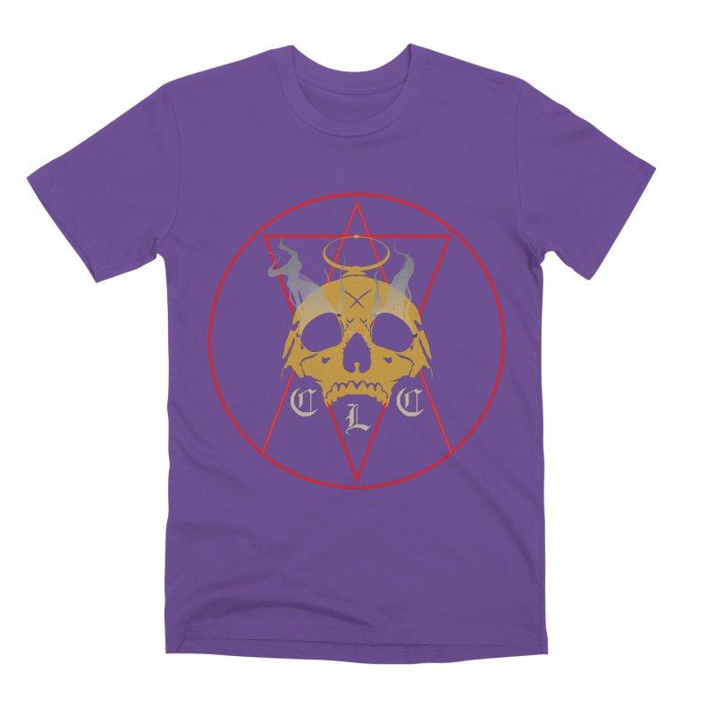 "CLC ""Broken Up"" Logo Men's Premium T-Shirt by Cold Lantern Collection"