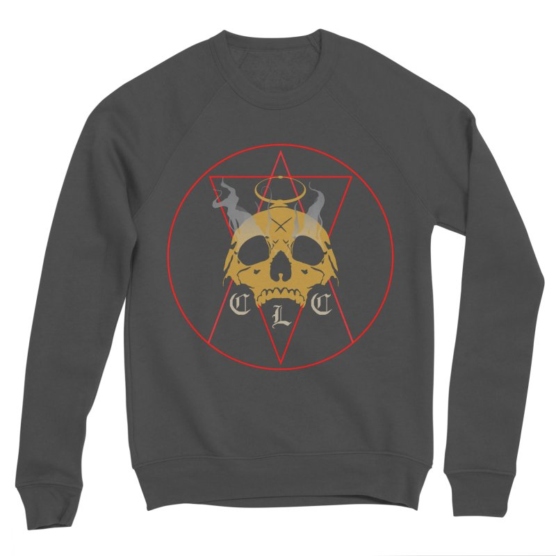 """CLC """"Broken Up"""" Logo Men's Sponge Fleece Sweatshirt by Cold Lantern Collection"""