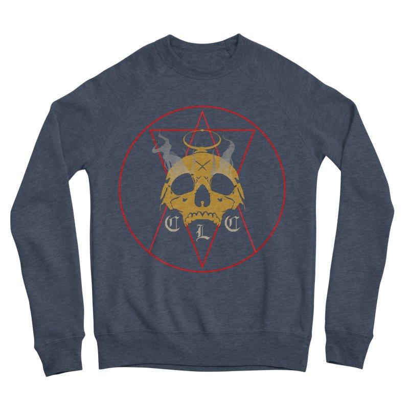 """CLC """"Broken Up"""" Logo Women's Sponge Fleece Sweatshirt by Cold Lantern Collection"""