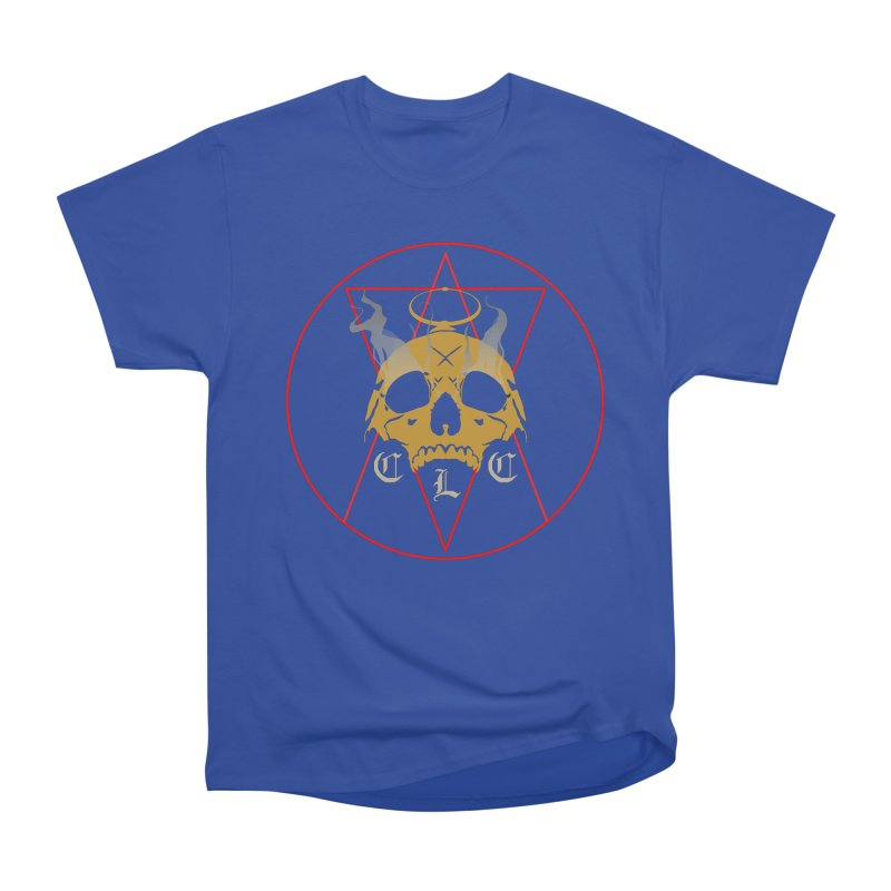 "CLC ""Broken Up"" Logo Women's Heavyweight Unisex T-Shirt by Cold Lantern Collection"