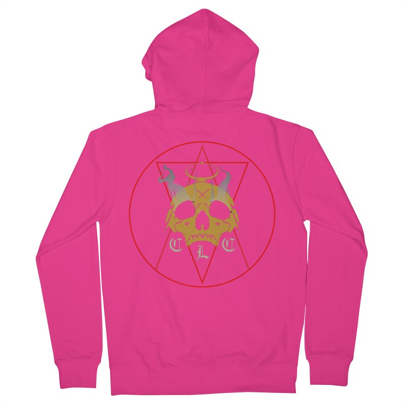 """CLC """"Broken Up"""" Logo Men's French Terry Zip-Up Hoody by Cold Lantern Collection"""