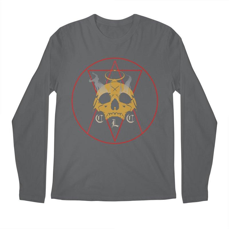 """CLC """"Broken Up"""" Logo Men's Regular Longsleeve T-Shirt by Cold Lantern Collection"""