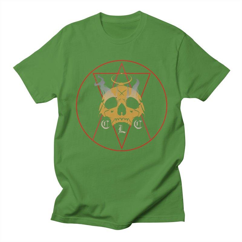 "CLC ""Broken Up"" Logo Women's Regular Unisex T-Shirt by Cold Lantern Collection"